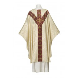 Chasuble Chi-Rho Tudor rose