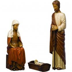 Crèche de Noël en dolomie modèle 1560