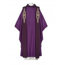 Chasuble Renaissance avec étole de prêtre