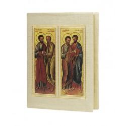 Couverture de bible avec icône